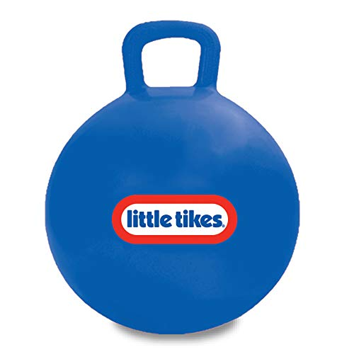 """Little Tikes Bouncing Fun! Blue Hopper 9301B - Mega 18"""" Inflatable Heavy Gauge Durable Vinyl Ball - Deflates Easily for Storage - Exercise Learning Fun? YES - Use That Energy! for Kids Ages 4-8"""