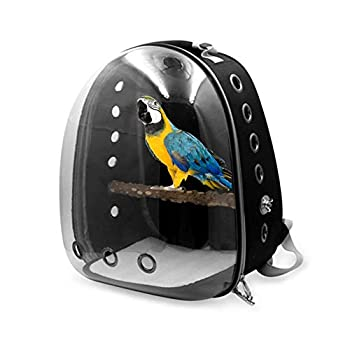 AIflyMi Sac à Dos de Transport Cage à Oiseaux Aviaire Birdhouse pour Perroquet Perruche Caca
