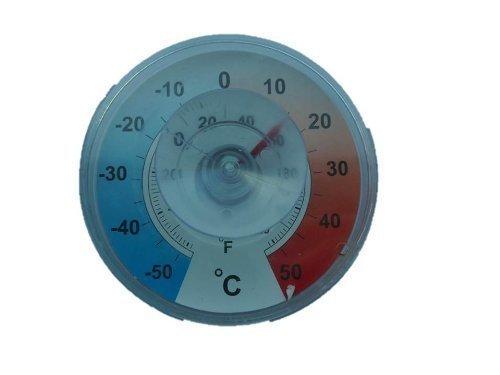 Fenster - Aussen - Klebe Thermometer Analog . Fensterthermometer von Conny Clever®
