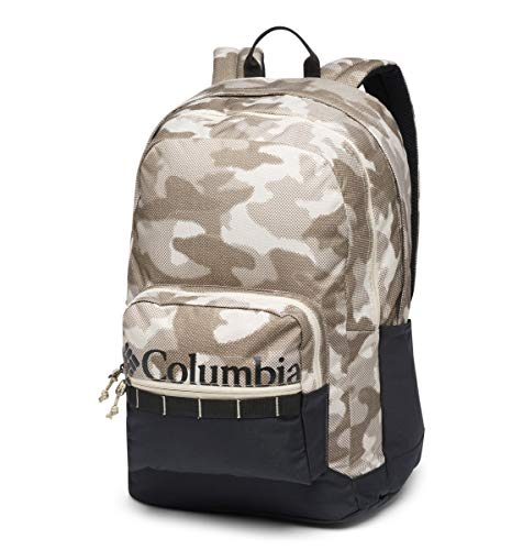 Columbia Zigzag 30L Backpack, Ancient Fossil Spotted Camo, Black, One Size