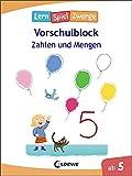 Die neuen LernSpielZwerge - Zahlen und Mengen: Vorschulblock ab 5 Jahre - Lernspiele und Übungen für Kindergarten und Vorschule
