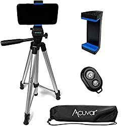 Great phone tripod for photography with blue tooth remote