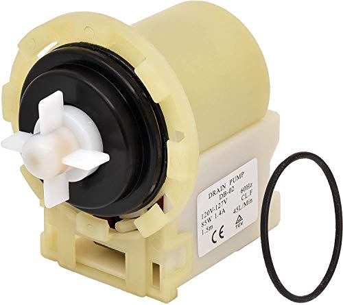 [NEW] 8540024 W10130913 Washer Drain Pump Replacement part by Blue Stars - Exact Fit for Whirlpool Kenmore Maytag Washers - Replaces W10117829 PS11757304