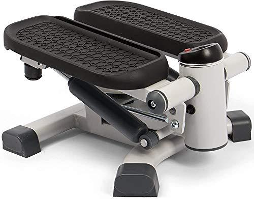 Stepper - für Anfänger und Fortgeschrittene zu intensivieren und nach unten Maschine, kleine kompakte, nach Hause Fitnessgeräte, Ausdauertraining,Grey
