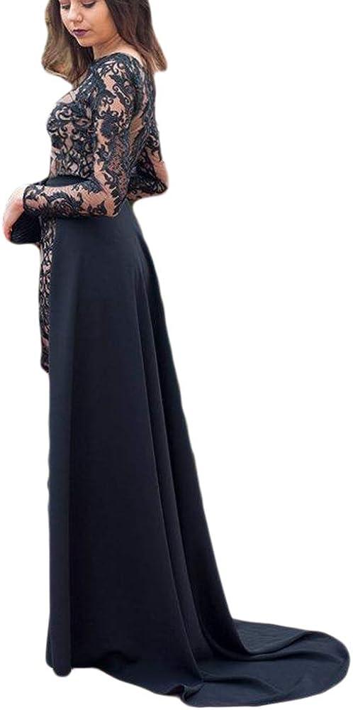 Simlehouse Black Satin Detachable Train Party Prom Dress Max 46% OFF 40% OFF Cheap Sale Overski
