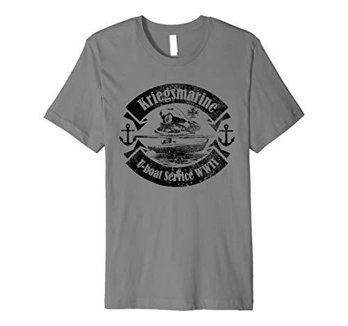 WW2Deutsche U-Boot T Shirt–U-Boot der Kriegsmarine Service
