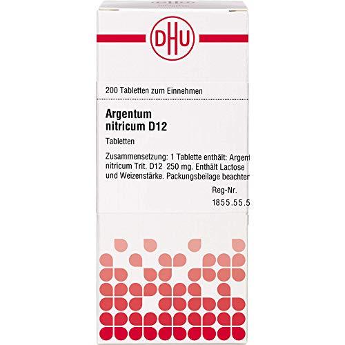DHU Argentum nitricum D12 Tabletten, 200 St. Tabletten