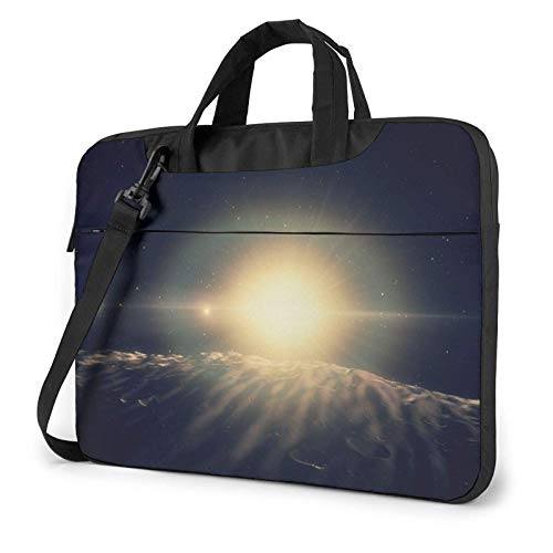 XCNGG Computertasche Umhängetasche Laptop Bag, Ocean Planet Sea Business Briefcase Protective Bag Cover for Ultrabook, MacBook, Asus, Samsung, Sony, Notebook 15.6 inch