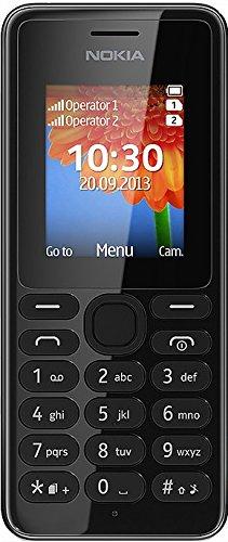 NOKIA CELLULARE 108 Black DS DUAL SIM-TASTI-ECONOMICO