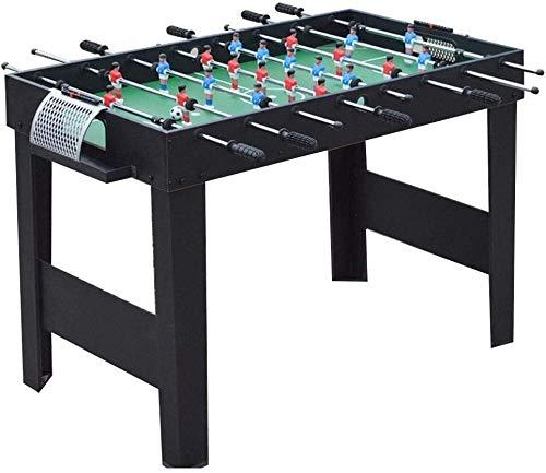 ZZXXB Tischfußball Erwachsenen Standard 8 Football-Maschine Kindermaschinenhallenfußballspieltisch Multiplayer Sport Billard Kinder intellektuelle Entwicklung Spielzeug geben Kindern Judi