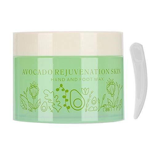 150g Cuidado de manos Parafina Aguacate Cera para manos y pies Hidratante Exfoliante Eliminación de piel muerta Peel-off Cuidado de manos Máscara