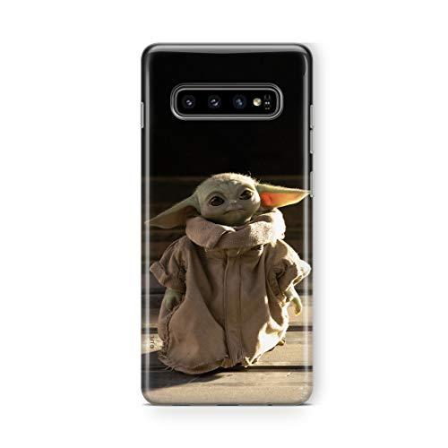 Original & Offiziell Lizenziertes Star Wars Baby Yoda Handyhülle für Samsung S10, Hülle, Hülle, Cover aus Kunststoff TPU-Silikon, schützt vor Stößen & Kratzern
