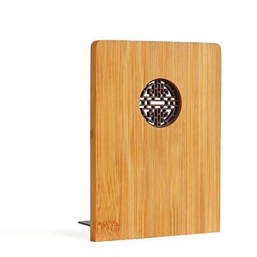 CompraJunta Buchhalter, klassischer chinesischer Stil, Veranstalterbücher mit Ruyi-Symbol, ökologischer Bambus, 16,0 * 12,0 * 8,0 cm