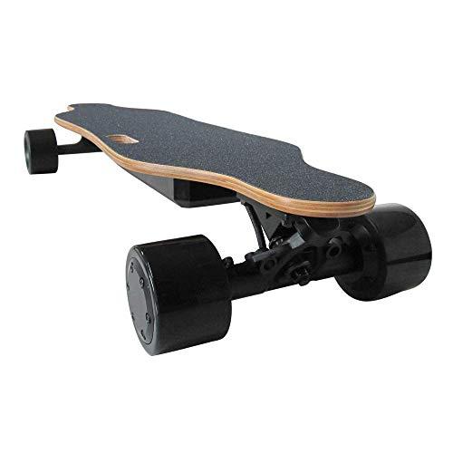 Elektrisch Skateboard, Four Wheel Boost, Electronic Mini Longboard 350W Hub-Motor met draadloze afstandsbediening Scooter Skateboard zhihao