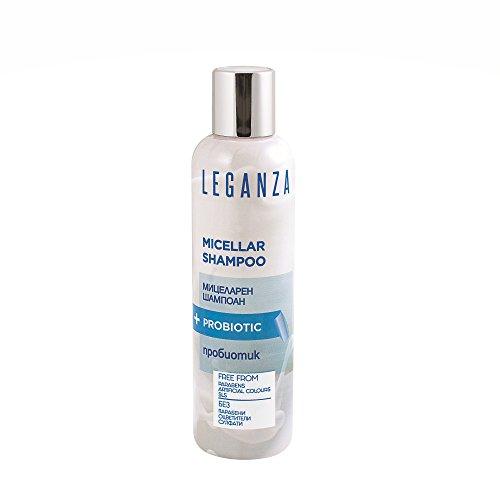 Leganza Shampooing Micellaire Sans Sulfates Sans Parabens Tous Types de Cheveux