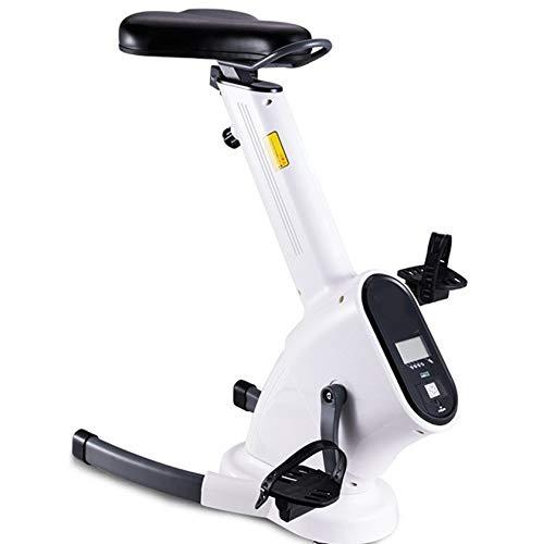PHASFBJ Equipo de Ejercicios para hogar,Bicicleta de Ejercicios portátil Adecuada para Ejercicios en hogar, Bicicleta Ejercicios de torsión Ajustable con un cómodo cojín
