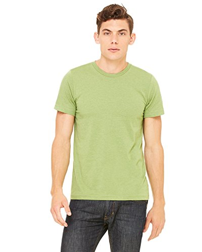 Product of Brand Bella + Canvas Unisex Jersey Short-Sleeve T-Shirt - Heather Green - S - (Instant Savings of 5% & More)