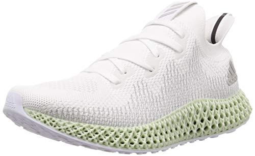adidas Alphaedge 4d Colorways, Zapatillas de Entrenamiento Mujer, Blanco (Ftwwht/Gretwo/Lindgrün Ftwwht/Gretwo/Lindgrün), 44 EU ✅