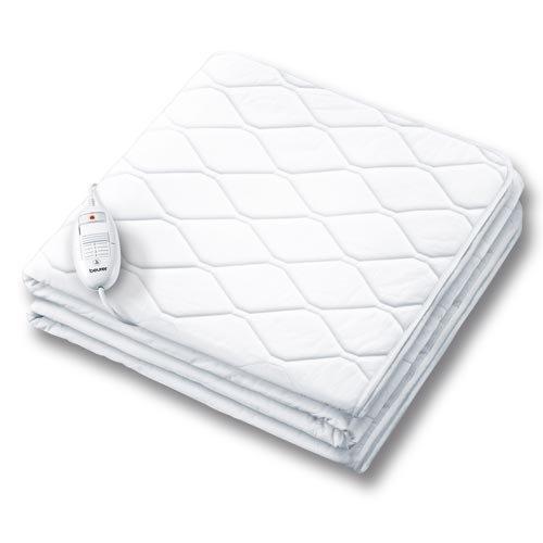 Beurer UB-64 - Calientacamas eléctrico, 60 W, lavable, color blanco