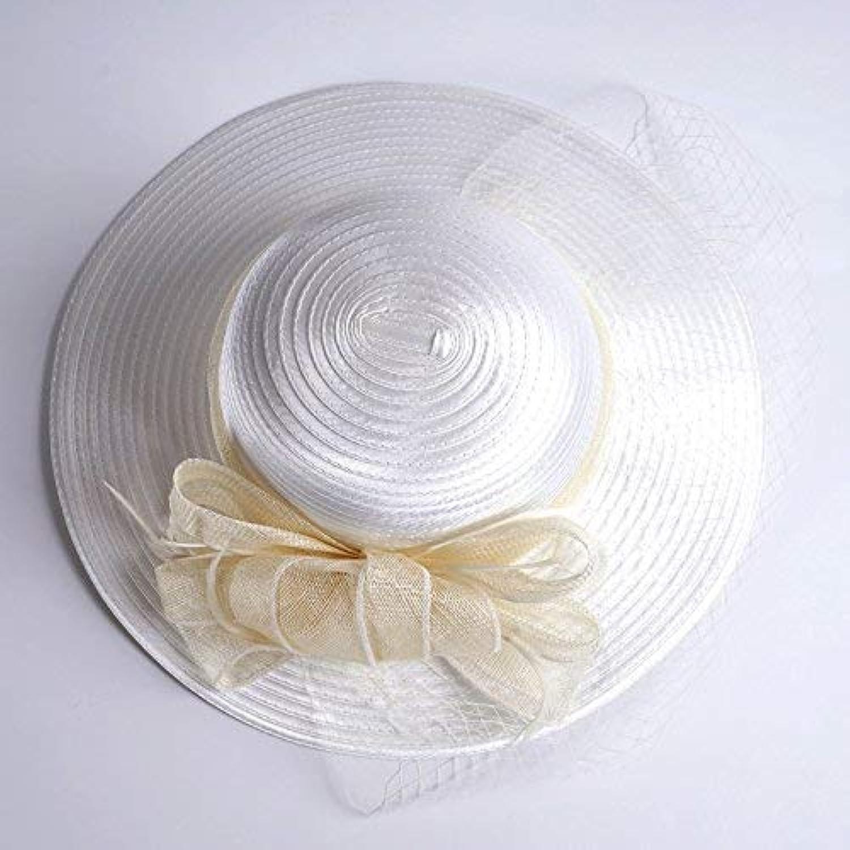 Beach Hat Ladies Summer Sun hat Elegant hat Outdoor Resort Sun Helmet Beach hat. Summer Sun Hat (color   C)