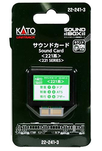 KATO Nゲージ サウンドカード 221系 22-241-3 鉄道模型用品