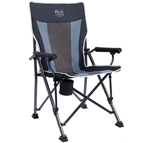 Timber Ridge Camping Chair 400lbs Folding Padded...