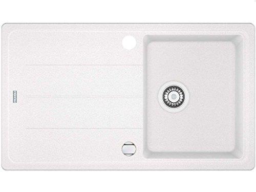 Franke Basis BFG 611-86 Glacier Granit Spüle Weiß Einbau-Spüle Spülbecken Küche