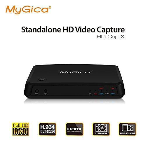 Box Scheda Acquisizione Video Real Time da SCART RCA HDMI VHS DECODER DVD PC CD PVR Mac Apple Game Capture Console Senza Pc