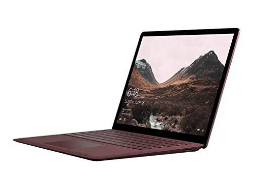 Microsoft Surface Laptop (Intel Core i7, 16GB RAM, 512 GB) Windows 10 Pro, Burgundy