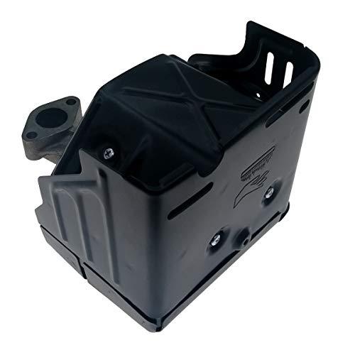 Cancanle Schalldämpfer Auspuffanlage mit Krümmer Ersatz für Honda GX240 GX270 8HP & 9HP Motor