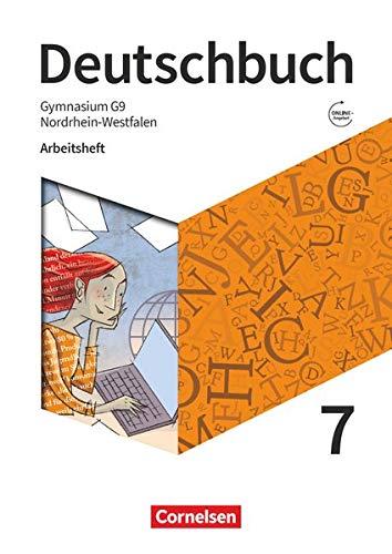 Deutschbuch Gymnasium - Nordrhein-Westfalen - Neue Ausgabe: 7. Schuljahr - Arbeitsheft mit Lösungen