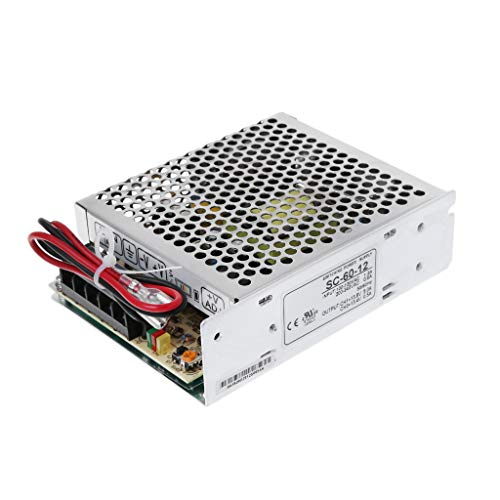 Buwei SC-60W-12V5A Schaltnetzteil mit USV-Monitor-Ladegerät