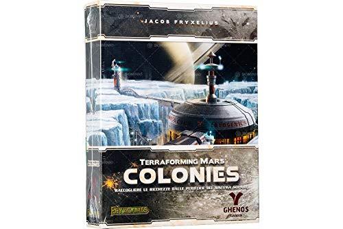 ghenos Games Colonies [expansión para terraforming Mars], Multicolor, tmcl , color/modelo surtido