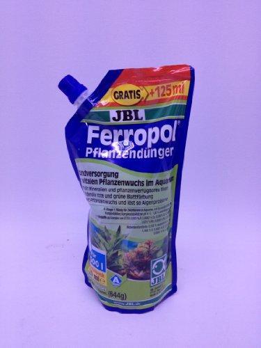 JBL Ferropol Refill Pack 625ML Osmose Impianti, dissalatore, Borosilicato Filtro