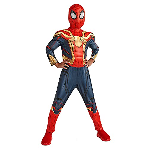 Marvel Spider-Man: No Way Home Deluxe Reversible Costume for Boys, Size 5 6