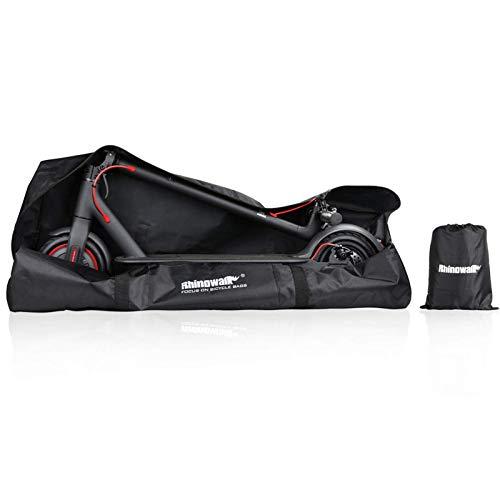 Rhinowalk Bolsa para Scooter Plegable,Portable Oxford Paño Scooter Bolsa Eléctrica Skateboard Bolsa de Transporte Compatible with Xiaomi Mijia M365 (Negro)