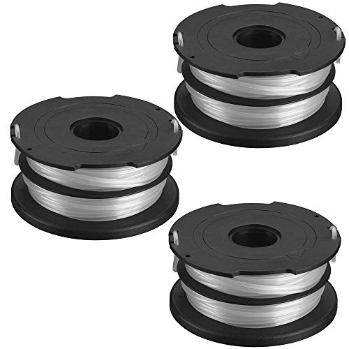 Black and Decker DF-065-BKP Dual Line (3 Pack) Replacement Spool # 90517175-3PK