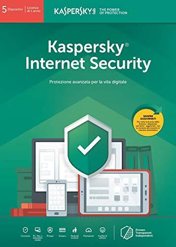 SOFTWARE INTERNET SECURITY 2019 5 CLNT (KL1939T5EFS-9SLIM)