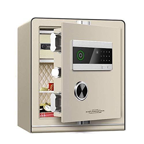 HIZLJJ Inteligente de la Huella Digital Caja de Seguridad - for el Ministerio del Interior y hoteles a Passport Tienda de joyería en Efectivo (Size : 40cm)