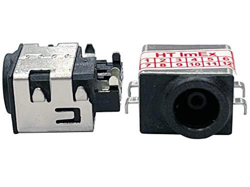 HT ImEx - Conector de alimentación hembra de alimentación DC Jack compatible con Samsung R530-JS01DE, R530-JT50DE, R530-Nolan, R530-JS03DE, R530-JA05DE, R530-JA09DE, R530-Naruto