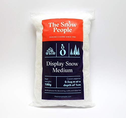 Display Snow Medium 180g - artificial snow as used in...