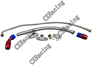CXRacing Turbo Oil Line Feed Drain Return Kit For Mazda RX7 RX-7 FC 13B AN10