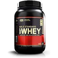 Optimum Nutrition ON Gold Standard 100% Whey Proteína en Polvo Suplementos Deportivos con Glutamina y Aminoacidos Micronizados Incluyendo BCAA, Galletas y Crema, 29 Porciones, 900 gr