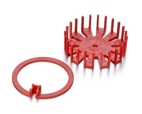 KnorrPrandell 8529000 Universal-Legeform, 10 cm Durchmesser, rot