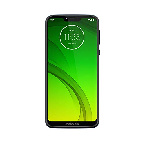 Moto G7 Power - Unlocked - 64 GB - Marine Blue (No Warranty) - International Model (GSM Only)