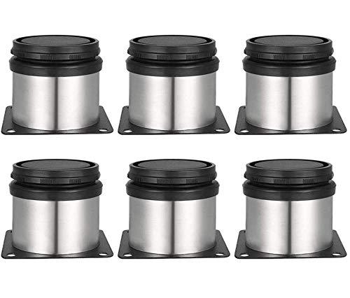 Patas para Muebles - WENTS 6 Piezas Patas para Muebles Inoxidable Cocina Patas Regulables Altura Ajustable