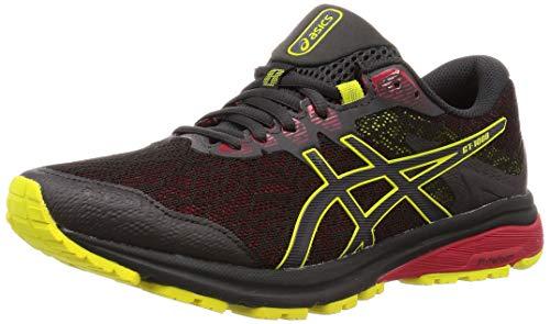 Asics Gt-1000 8 G-TX, Zapatillas de Running para Hombre, Gris (Graphite Grey/Sour Yuzu 020), 44.5 EU