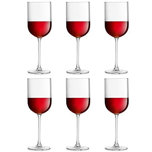 Copa de vino Skava de Libbey – 41 cl / 410 ml - set de 6 unidades - forma recta – apta para el lavavajillas