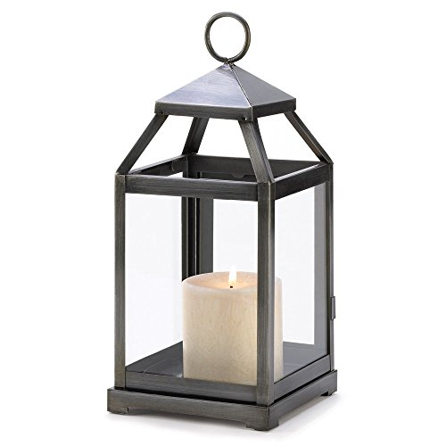 10 Wholesale Rustic Silver Contemporary Candle Lantern Wedding Centerpieces