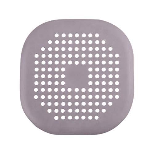 Manda Stell Runde Haarfänger Silikon Abflusssieb Dusche Badewanne Bodenfilter Wasserstopper Gummi Küche Bad Deo Stopfen